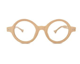Fashion Forward, Lightweight Wood-Type, Vintage Eyeglass Frames