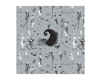 The Nightmare Before Christmas Cotton Fabric by the Yard