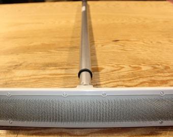 Universal Rug Rake with Telescoping Handle
