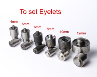 Eyelet Die Mold for Hand Press Machine Setter Grommet Setter Tool