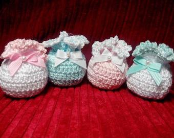 Saquitos crochet - Crochet sacks -  钩针袋 - Sacs crochet