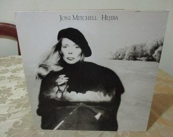 Vintage 1976 Vinyl LP Record Hejira Joni Mitchell Excellent Condition 16731