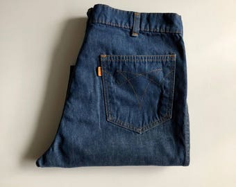 Vintage Men's 70's Levi's For Men, Jeans, Orange Tab, Denim (W32)