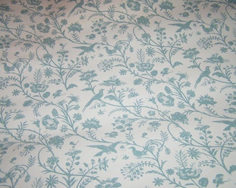Vintage Laura Ashley Wallpaper Ditsy Primitive