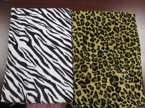 Pool Towel Personalized Animal Print