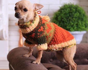 Dog sweaters Dog sweaters small Small dog sweaters Chihuahua Clothing for dogs Chihuahua dog sweater Pet clothing dog Dog hoodie