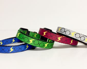 Harry Potter inspired Cat Collar  - Dog Collar - Gryffindor - Ravenclaw - Slytherin - Christmas - Dog Gift