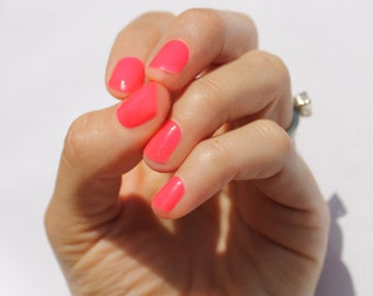 Solid Neon Nail Wraps