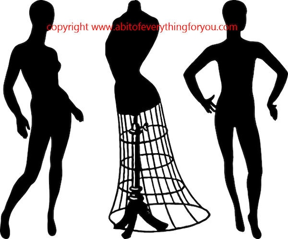mannequin people wire dress form printable art clipart png download digital fashion image graphics silhouette digital stamps