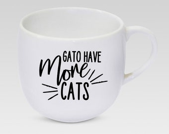 More Gatos Mug