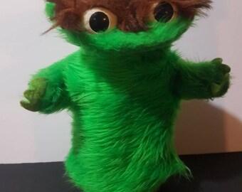 des années 1970 Oscar le grincheux marionnette à main