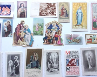 set of 20 images pious ref. 620