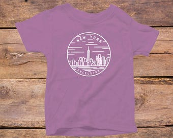 New York State Design - Eco Tri-Blend Infant T-Shirt