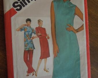 Simplicity 5137, dress, tunic, pants, UNCUT sewing pattern, craft supplies, misses, womens, size 10, petite