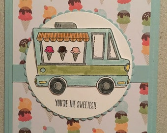 "Tasty Trucks Ice Cream Truck ""You're the Sweetest"""