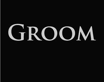 Groom t Shirt mens wedding bridal shirt