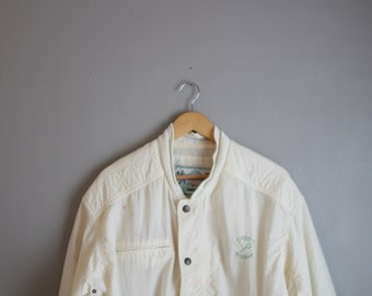 Vintage Men's Athletic Jacket 70s Baggy Wear