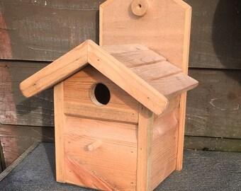 Bird Box - Bird Box -Bird House - Tit Box - Blue Tit - Great Tit - Tit Nesting Box - Bird House