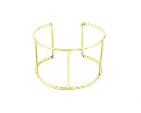 Geometric Bracelet, Minimalist, Arm Cuff, Boho, Bohemian, Gypsy, Festival Jewelry, Modern, Contemporary