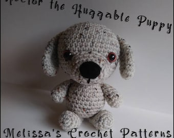 Crochet Pattern - Hector the Huggable Puppy