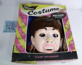 1960's Ben Cooper Paul McCartney Halloween Costume w/Mask