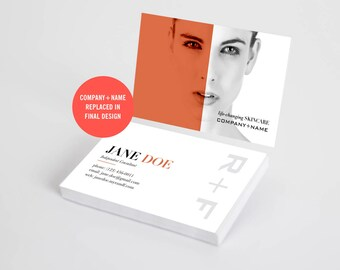 Rodan and Fields Business Cards, RF Cards, Randf Consultant Cards, Skincare Business Card, Rodan Fields Personalized, Digital