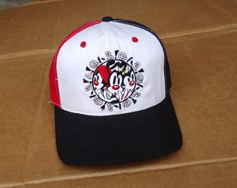 Animaniacs vintage Mickey mouse cap hat snapback,1994,adults