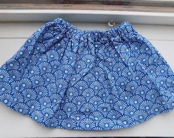 Skirt for girls in Japanese fabric textile 2 years
