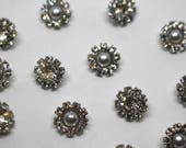 Crystal or Pearl Buttons ...