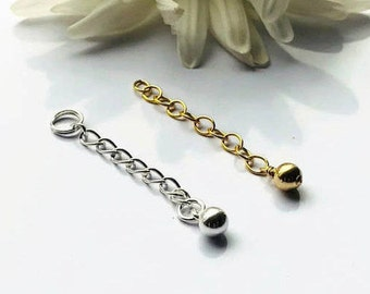 "Add On - 1"" Extender, 14K Gold Filled or Sterling silver"