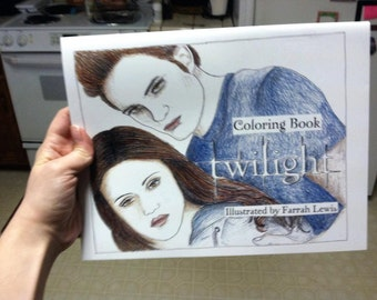 LAST ONE!! Twilight Coloring Book Physical Copy
