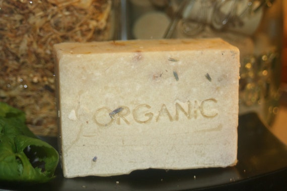 Simply Soap Unscented made with all Organic ingredients Large 5.3 oz bar