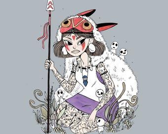 Princess Mononoke • Print