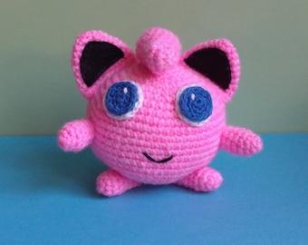 Teddy is Jigglypuff pokemon, handmade