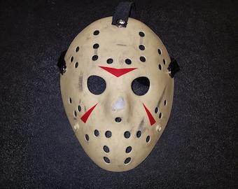 Friday the 13th Part 3 Jason Hockey Mask