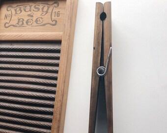 Jumbo Wooden Clothespin