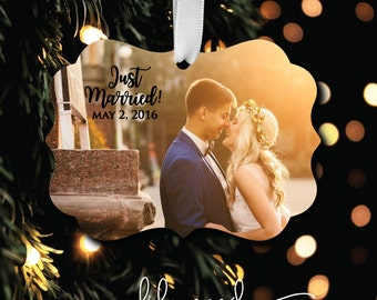 Photo Ornament - Personalized Photo Ornament - Monogrammed Ornament - Christmas Ornament - Custom Ornament - Design your Own