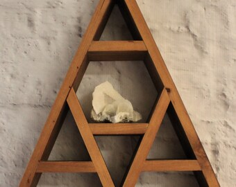FLASH SALE: Single Peak Mountain Display Shelf