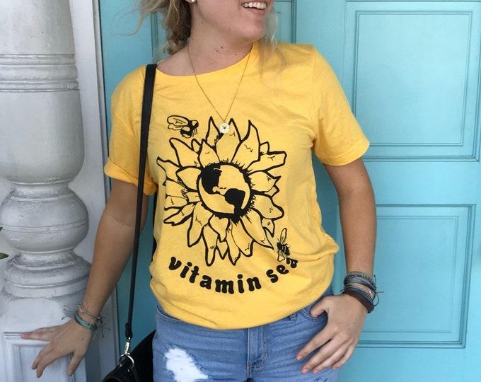 Sunflower Earth Tee