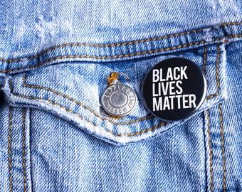 Black Lives Matter Button - Wholesale/Bulk 1.25 inch | Black Pride