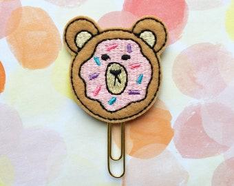 Grumpy Donut, Grumpy Bear Sticker Co Collab