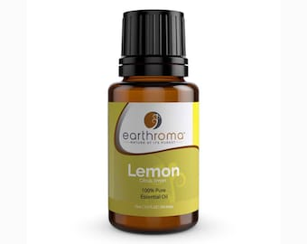 Lemon Essential Oil | 5 mL | 15 mL | 30 mL | 100% Pure Therapeutic Grade