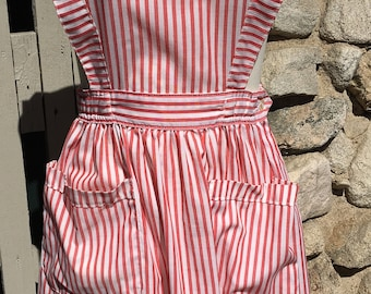 Vintage Candy Striper Volunteer Uniform Nurse Costume