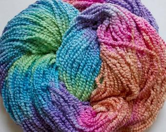 Puffin, Hand dyed cotton yarn, 8oz, 370 yds - Fiesta