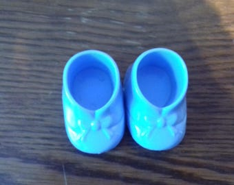 Shoes for kids blue decoration