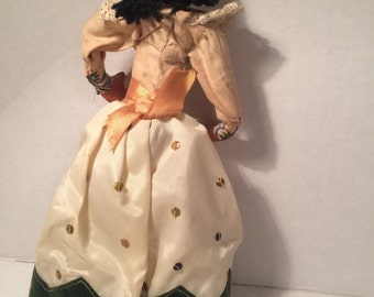 Vintage cloth doll.