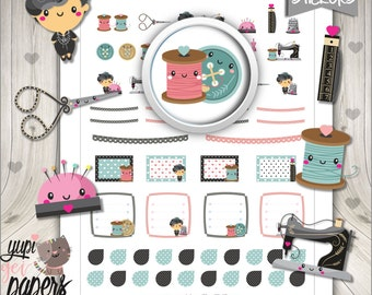 Fashion Stickers, Planner Stickers, Coco Channel Stickers, Stickers, Planner Accessories, Modern Stickers, Planner Girl