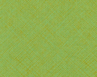 Architextures Crosshatch in Pistachio, Carolyn Friedlander, Robert Kaufman Fabrics, 100% Cotton Fabric, AFR-13503-52 PISTACHIO
