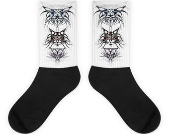 Coool Cats TRIBAL CATS Socks