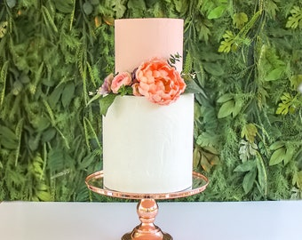 Floral Tier Topper- Cake topper, prop cake, party decor